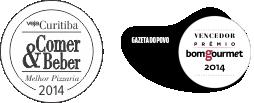 Pizzaria Carolla Curitiba - Prêmios