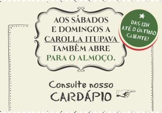 Almoço Curitiba - Carolla Pizzaria