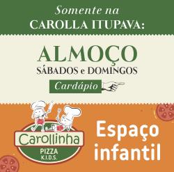 Almoço Carolla Pizzaria