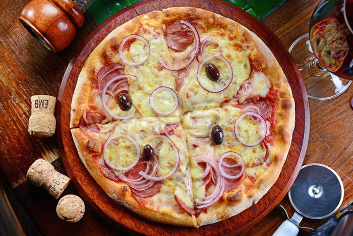 Pizza Calabrese Gourmet