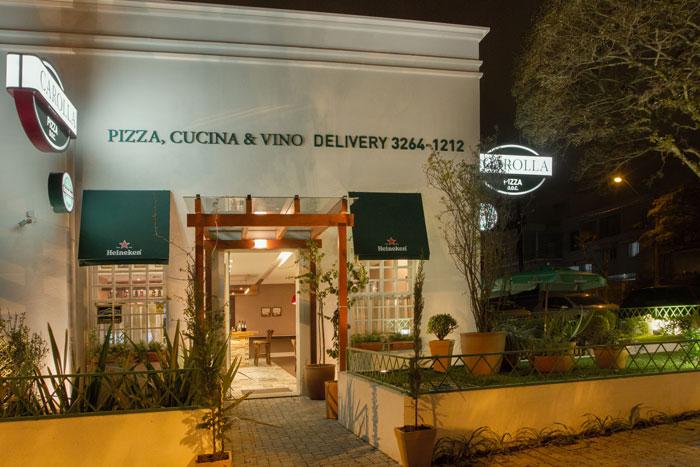 Pizzaria Carolla Curitiba Delivery Itupava Alto da XV